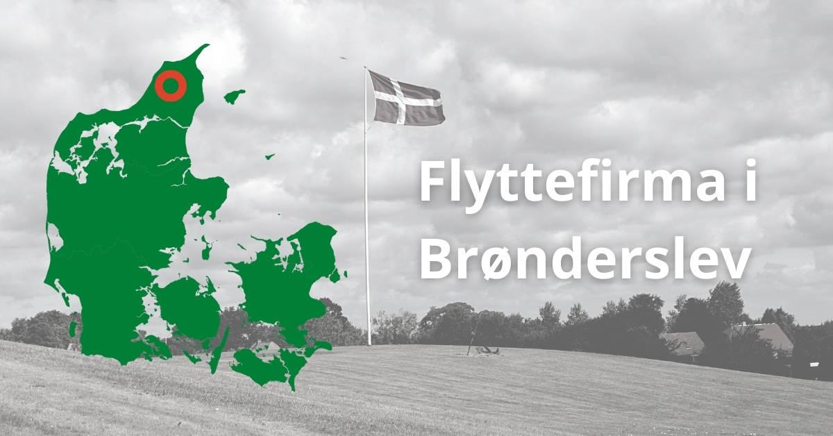 Flyttefirma i Brønderslev - 3 flyttetilbud fra flyttemænd i Brønderslev