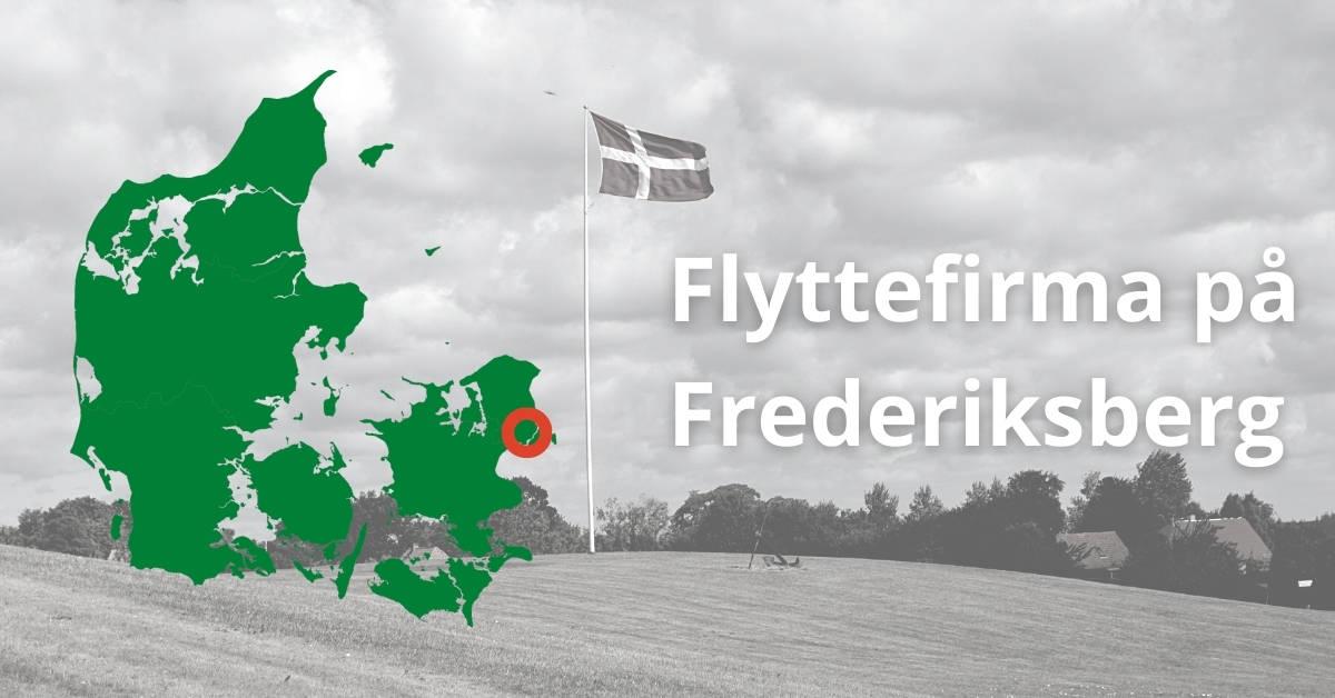 Flyttefirma på Frederiksberg